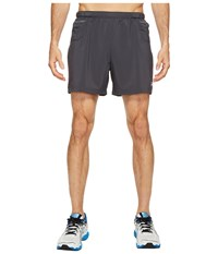 Asics Distance 5 Shorts Dark Grey Men's Shorts Gray