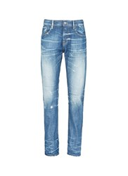 Scotch And Soda Lot 22 Vernon' Distressed Jeans Blue