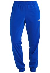 Adidas Performance Tricot Tracksuit Bottoms Collegiate Royal Black Dark Blue