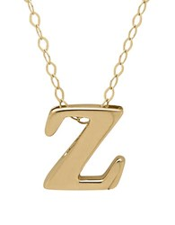 Lord And Taylor 14K Gold Pendant Necklace Z