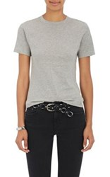Acne Studios Women's Dorla Cotton T Shirt Grey