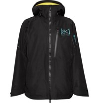 Burton Ak Cyclic Gore Tex 2L Hooded Ski Jacket Black