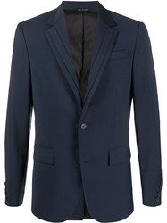 Les Hommes Striped Detail Fitted Blazer 60