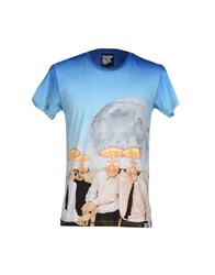 Pharmacy Industry Topwear T Shirts Men Sky Blue