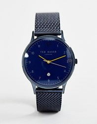 Ted Baker Ethan Mesh Watch Blue