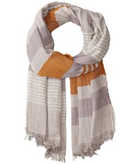 Prana Flora Scarf Burnt Caramel Scarves Brown