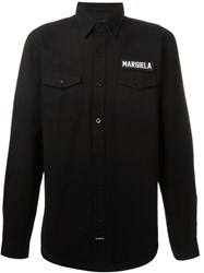 Les Artists Les Art Ists Margiela Patch Shirt Black