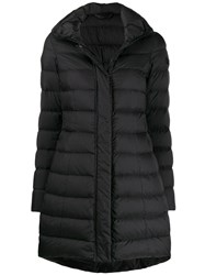 Peuterey Long Sleeve Padded Coat Black