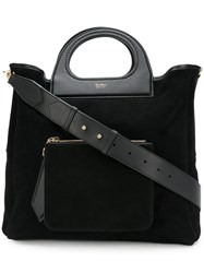 Max Mara Reversible Shopper Bag Black