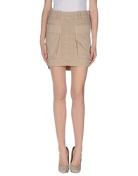Gunex Mini Skirts Beige