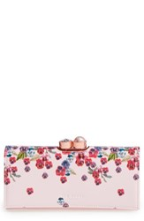 Ted Baker Women's London Scatter Pansy Leather Matinee Wallet