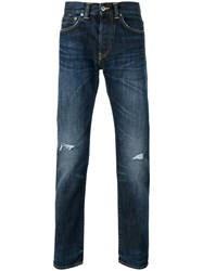 Edwin Tapered Jeans Men Cotton 31 Blue