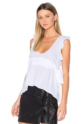 N 21 Scoop Neck Blouse White
