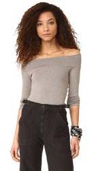 Riller And Fount Clint Off The Shoulder Top Sea Wash