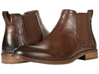 Nunn Bush Hartley Double Gore Boot Brown Dress Pull On Boots