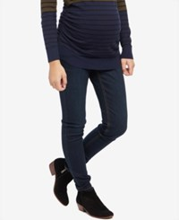 Motherhood Maternity Dark Wash Skinny Jeans