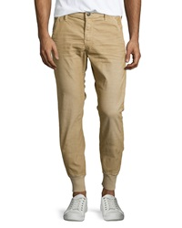 True Religion Runner Relaxed Corduroy Track Pants Straw