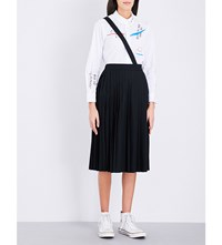 Chocoolate Pleated Skirt Black
