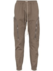 Rick Owens Tapered Cargo Trousers 60