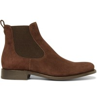 O'keeffe Bristol Suede Chelsea Boots Chocolate