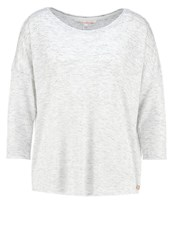 Tom Tailor Denim Jumper Off White Grey