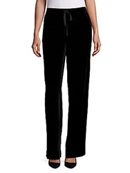 Saks Fifth Avenue Collection Velvet Drawstring Pant Black