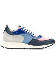 Philippe Model Montecarlo Lace Up Sneakers Blue