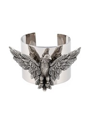 Philipp Plein 'Flying Away' Cuffs Metallic