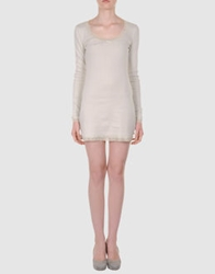 By Ti Mo Short Dresses Beige