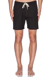 Lightning Bolt Plain Crane 16' Boardshort Black