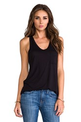 Alexander Wang Classic Pocket Tank Black