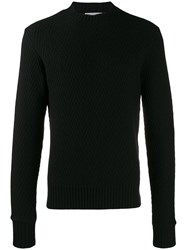 Ami Alexandre Mattiussi Paris Herringbone Felted Sweater 60