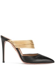 Aquazzura New Rendez Vous Mules Black