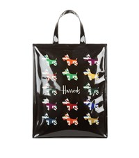 Harrods Medium Union Jack Westie Shopper Bag Unisex