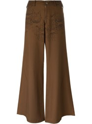 Jean Paul Gaultier Vintage 'Jpg By Gaultier' Trousers Brown