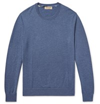 Burberry Cashmere Sweater Blue