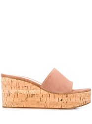 Gianvito Rossi Wedge Sandals Pink