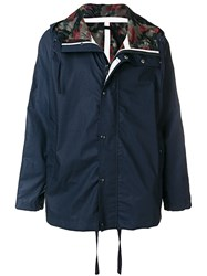 Sempach Camouflage Lined Parka Blue