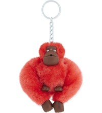 Kipling Monkey Keyring 6Cm Poppy Red