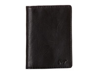 Will Leather Goods Shelby Front Pocket With Money Clip Black Wallet