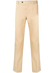 Hackett Slim Fit Chino Trousers Neutrals