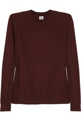 Iris And Ink Cashmere Sweater Red