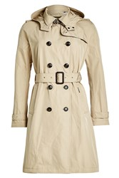 Woolrich Fayette Trench Coat With Hood