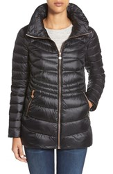 Women's Bernardo Packable Down And Primaloft Jacket Black