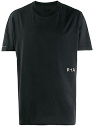 Rta Graphic Print T Shirt Neutrals