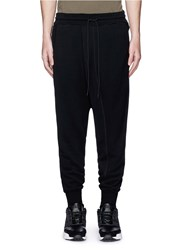 Nlst Foldover Front French Terry Sweatpants Black