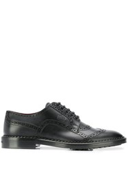 Dolce And Gabbana Formal Leather Brogues Black