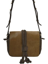 Isabel Marant Bliss Day Ponyskin And Leather Bag
