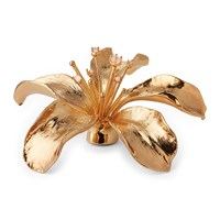 Aerin Lily Flower Gold