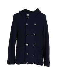 Barena Knitwear Cardigans Men Dark Blue